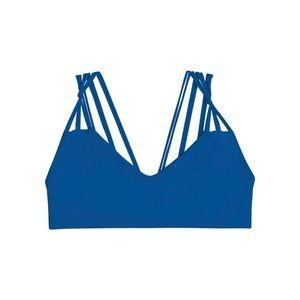 Mikoh Blue Strappy Top